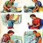 Services Cleaner And Caregiver Children