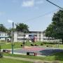 Area de gazebo, cancha baloncesto y area juegos